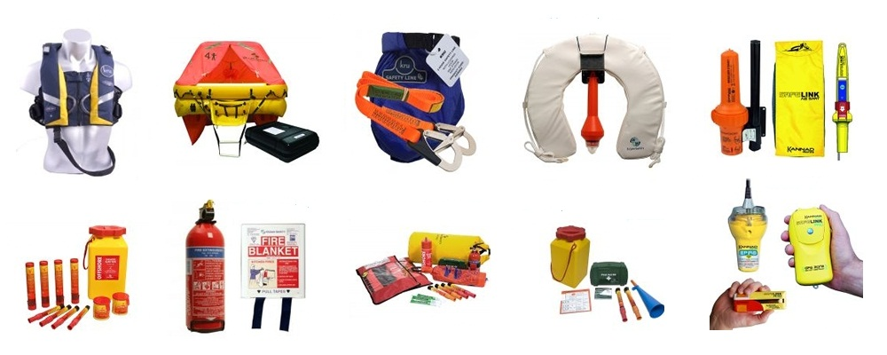 Safety Equipment for Sailing and Boating
